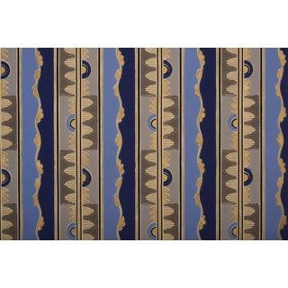 Gold Metallic Art Deco Wallpaper Sample