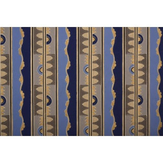 Gold Metallic Art Deco Wallpaper Sample