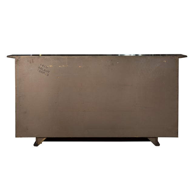 Image of Vintage Oriental-Style Black Lacquered Buffet