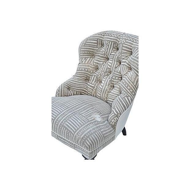 Mudcloth Boudoir Chair - Image 5 of 9