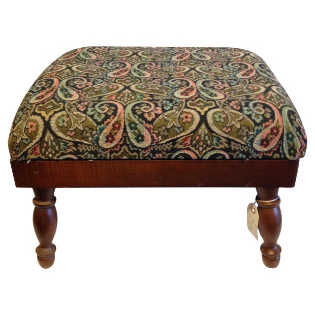 Image of Vintage Electric Warming Ottoman
