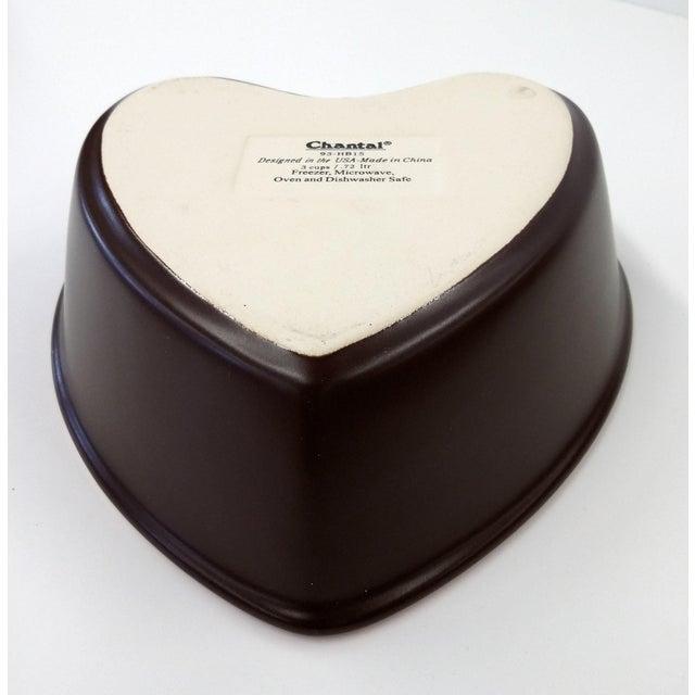 Chantal Pink Ceramic Heart-Shaped Bowl - Image 7 of 7