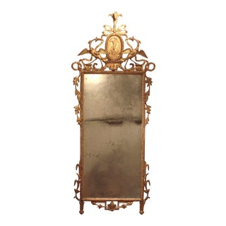 Neo Classical Pier Glass with Original Plate