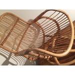 Image of Mid-Century Rattan Chair