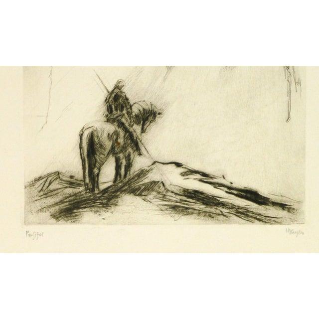 Original Etching Parsifal - Image 2 of 4