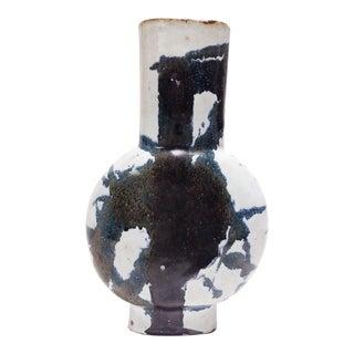 Abstract Black & White Art Statement Vase