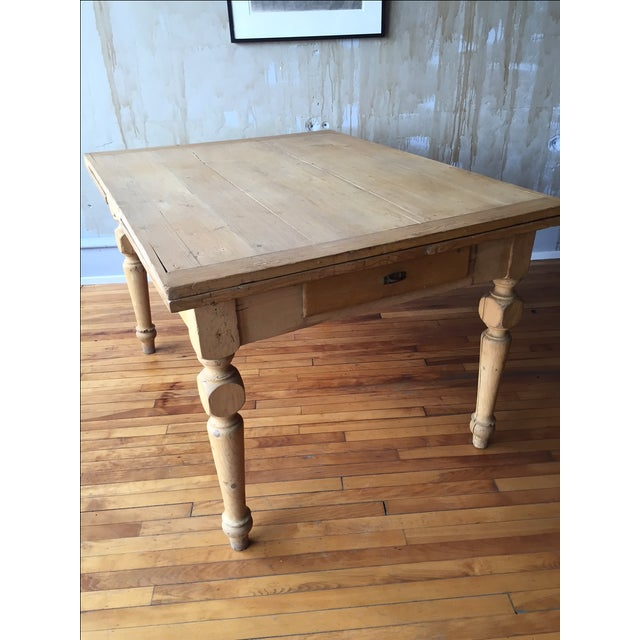 Rustic Italian Antique Dining Table - Image 5 of 9