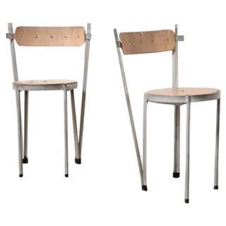 Industrialist Prototype Chairs - Pair