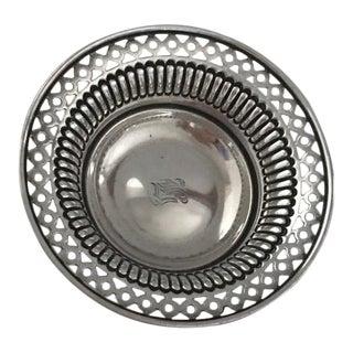 Blair & Crawford Sterling Silver Pierced Nut Dish