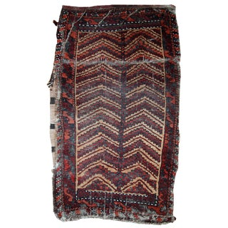 1900s Hand Made Antique Afghan Baluch Bag
