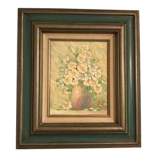 Original Floral Oil Painting