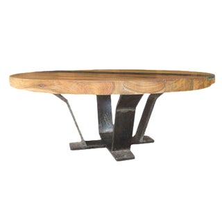 Teak Me Home Tides Round Cocktail Table
