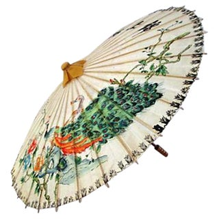 Chinese Peacock Parasol