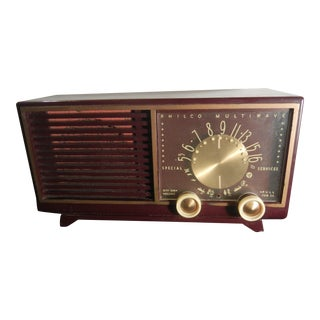1950s Vintage Philco Multiwave Radio