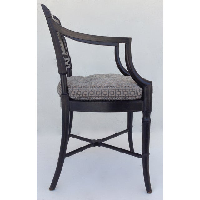 Maison Jansen Hand-Painted Regency Chair - Image 5 of 11