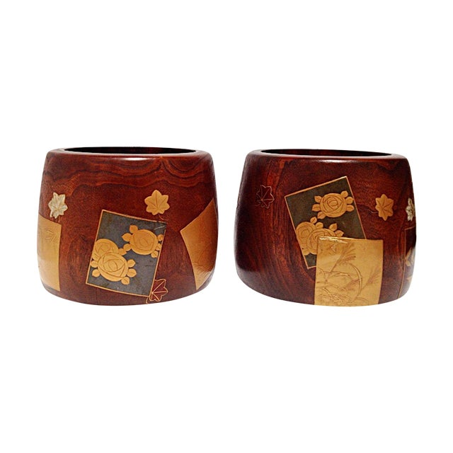 Meiji Period Hibachis - A Pair - Image 1 of 8