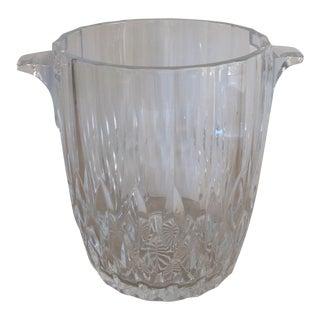Vintage Crystal Ice Bucket
