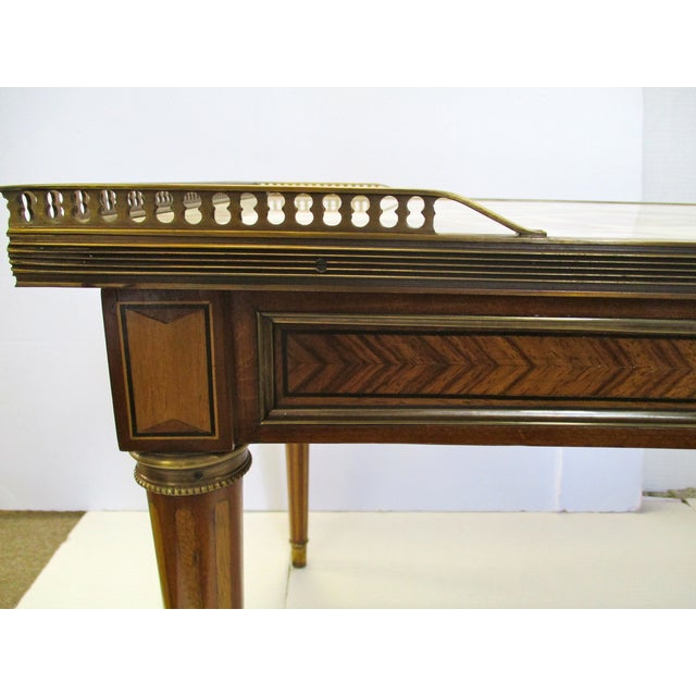 Image of French Marble Top Coffee Table