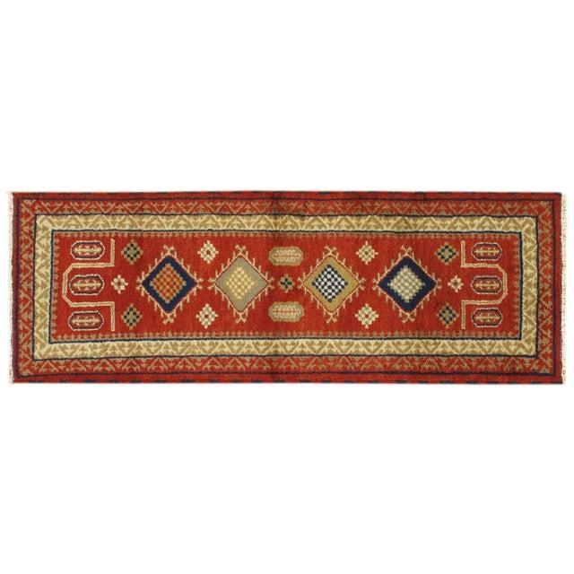 Image of Apadana - Traditional Red 3 x 8 Kazak Runner