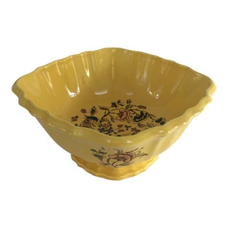 Vintage French Faience Bowl