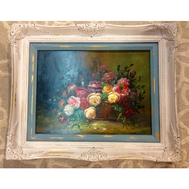 Floral Oil Painting - Image 2 of 5