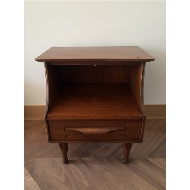 Mid-Century Stepped Side Tables - A Pair - Image 6 of 9