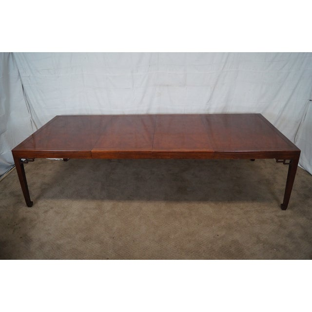 Baker Far East Collection Mahogany Dining Table - Image 10 of 10