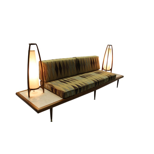 Mid Century Modern Adrian Pearsall Floating Sofa - Image 4 of 9