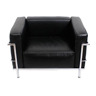 Le Corbusier Lc3 Chrome & Leather Chair