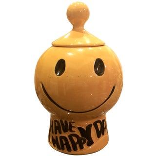 McCoy Smiley Face Cookie Jar