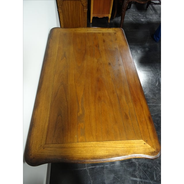 Hekman French Country Oak Writing Desk - Image 11 of 11