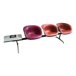 1973 Eames La Fonda Tandem Seating Unit