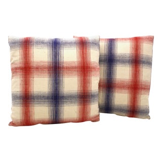 Hmong Homespun Pillows - A Pair