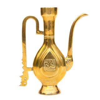 Decorative Chinese Brass Pitcher
