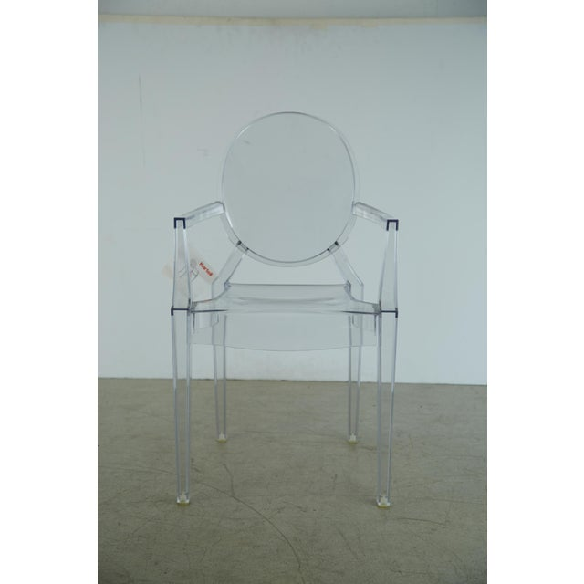 Louis XVI Ghost Chairs by Philippe Starck for Kartell, Unused With Original Tags, Four (4) Available - Image 6 of 9