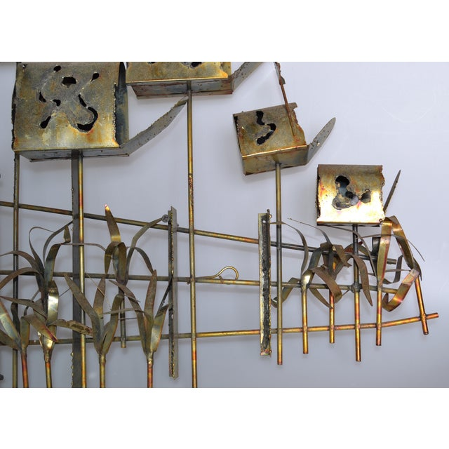 Wall Decor Mailbox : Curtis jere brass mailbox wall art chairish