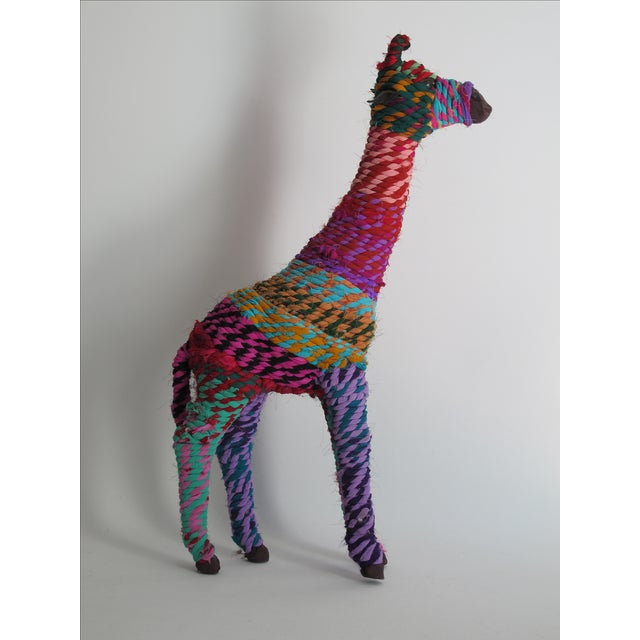 Boho Indian Chindi Giraffe - Image 3 of 7