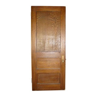 Antique Reclaimed Oak Veneer Door