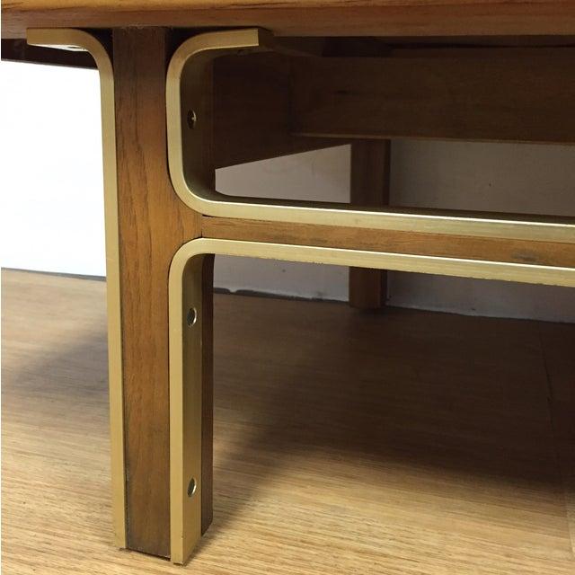 Zebra Wood and Brass 12 Drawer Dresser - Image 10 of 11