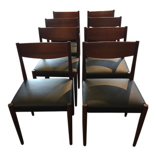 Poul Volther Teak Dining Chairs by Frem Rojile - Set of 8