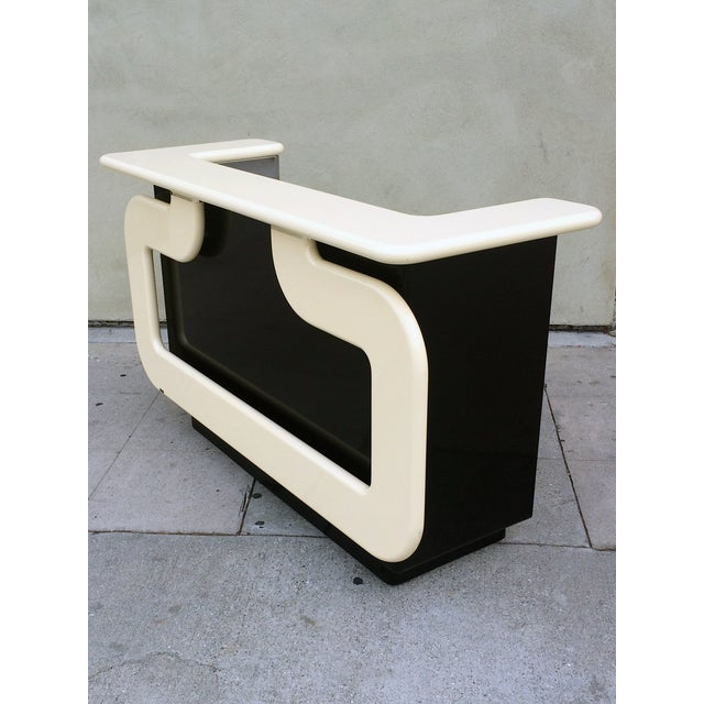 Black and Ivory Lacquer Dry Bar - Image 3 of 7