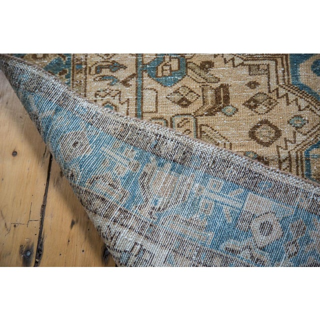 "Distressed Floral Hamadan Rug - 4'3"" x 6'10"" - Image 3 of 5"