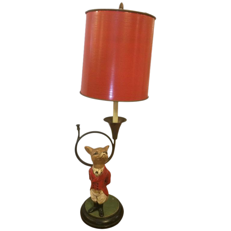 Fox U0026 French Horn Table Lamp