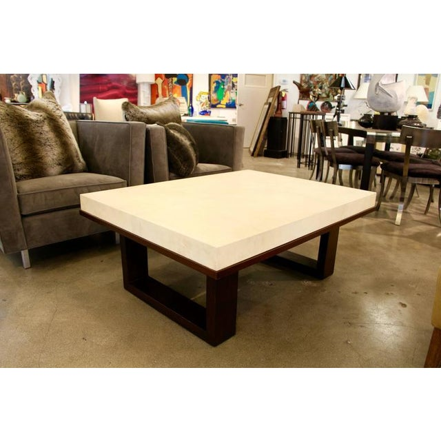 Image of Beautiful Parchment Top Table by Christopher Kennedy