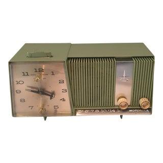 Vintage Motorola Retro Clock Radio