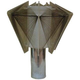 Paul Mayen Style Aluminum & Acrylic Table Lamp