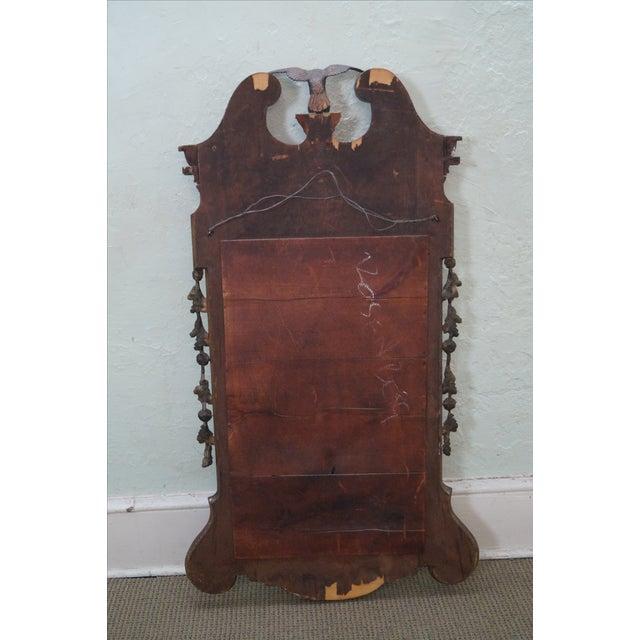 Image of Antique Mahogany Georgian George III Style Mirror
