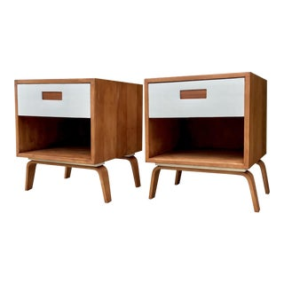Clifford Pascoe Mid-Century End Tables - A Pair
