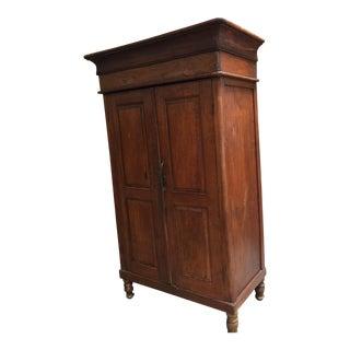 Antique Colonial Armoire