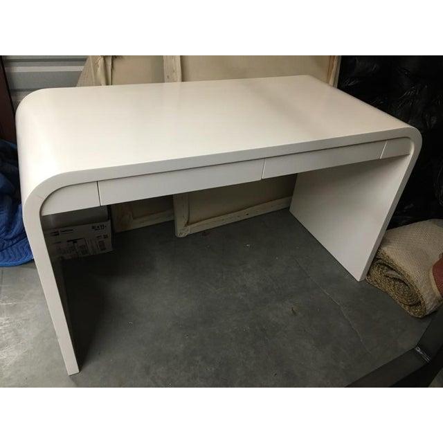 Image of Custom Waterfall Desk